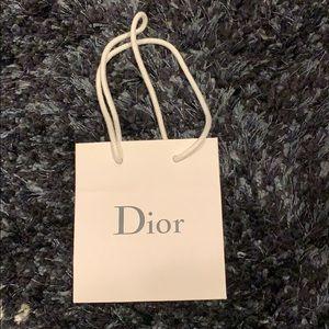 Mini Dior Shopping Bag